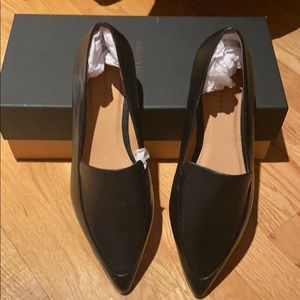 Brand new Halogen loafers in black